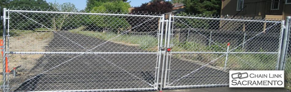 Chain Link Gates Sacramento Chain Link Courtyard Gates