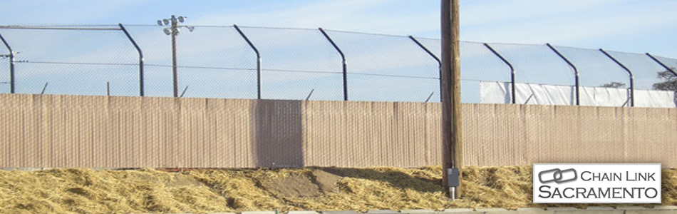 Chain Link Security Fence Sacramento